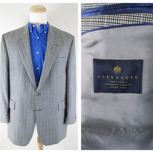 Alexandre London Savile Row Houndstooth Sport Coat